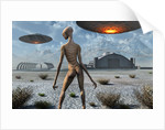 China Lake military base where aliens and humans work together. by Mark Stevenson