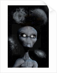 A grey alien. by Mark Stevenson