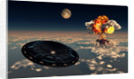 UFO sightings increased since the exploding of the first atomic bomb. by Mark Stevenson