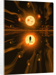 Mankinds ability to harness atomic power and the atom. by Mark Stevenson