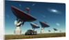 A deep space tracking station on an alien planet. by Mark Stevenson