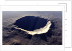 Artist's concept of Meteor Crater, Arizona, USA. by Rhys Taylor