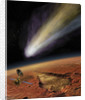 2014 Comet over Aromatum, Mars by Steven Hobbs