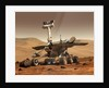 Artist's Rendition of Mars Rover. by Anonymous