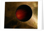 Illustration of a hot Jupiter called HD 149026b. by Anonymous