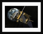 Artist Concept of the Lunar Reconnaissance Orbiter. by Anonymous