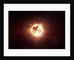 A dying star which will soon give new beginning to a black hole. by Tomasz Dabrowski