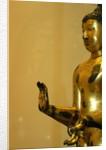Standing Buddha with right hand in abhaya mudra, detail by Stuart Cox