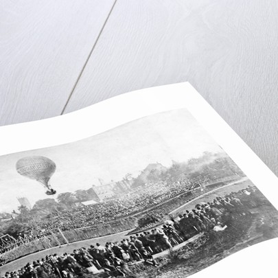 Thorneycroft Balloon Ascent, 11 Sep 1882 by unknown