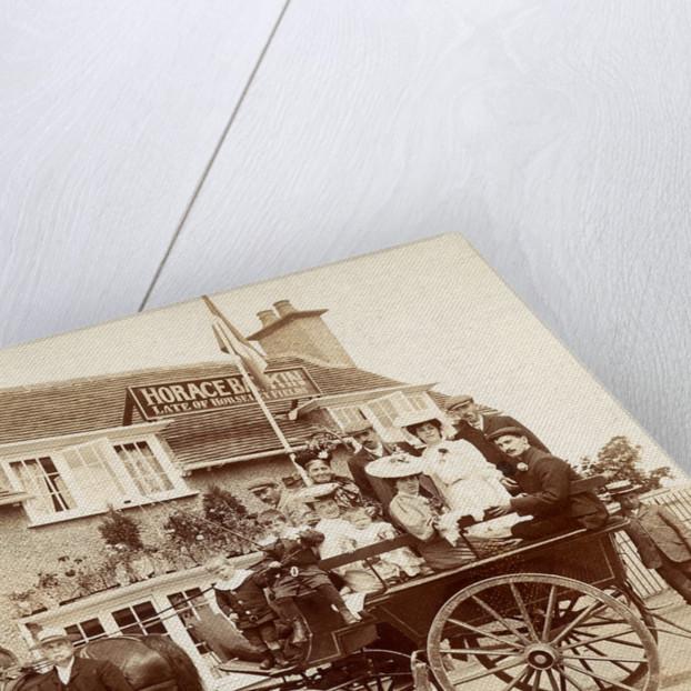 Old Fieldhouse Inn, Wolverhampton, 1906 by unknown