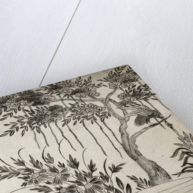 Pattern Book: Tree Design, 1688 by unknown