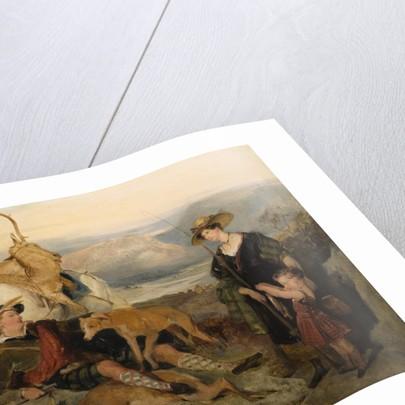 Deerstalking in the Highlands (Duchess of Bedford, Duke Gordon and Lord Alexander Russell), circa 1825 by Edwin Henry Landseer