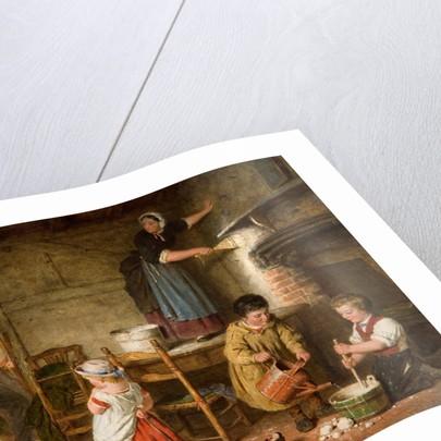 The Dismayed Artist, 1866 by Daniel Fredrick Hardy