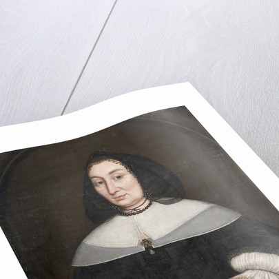 My Rock is Christ' - A Lady of the Bagot Family by unknown