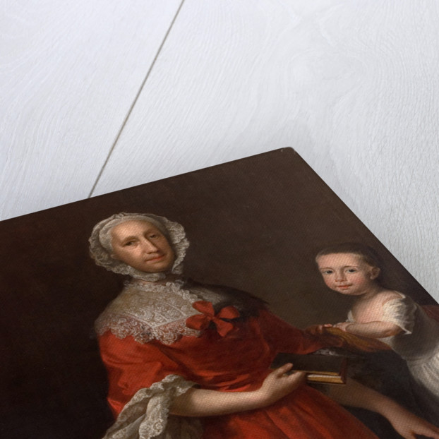 Isabella Lee and her grandson William Waller, 1759 by Joseph Highmore