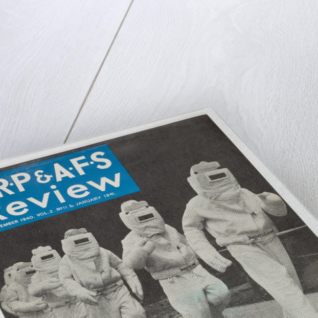 ARP & AFS Review, printed by Walsall Lithographic Company Limited, 1940 by unknown