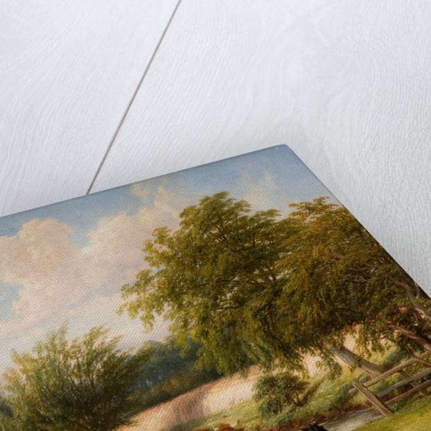 At The River's Brink, 1864 by Thomas Baker