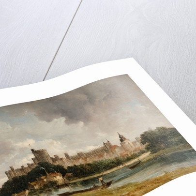 Windsor Castle from the Thames, 1790 - 1868 by Alfred Vickers