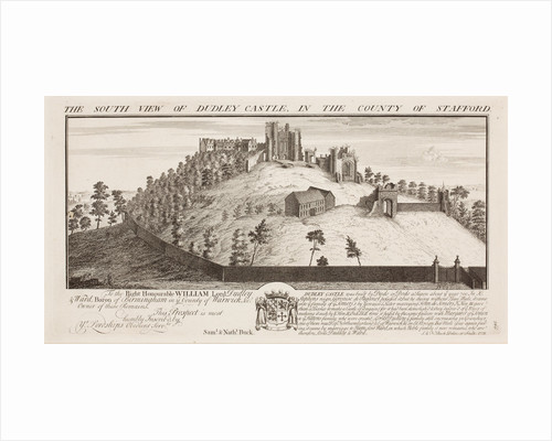 South View of Dudley Castle, 1731 by Samuel Buck