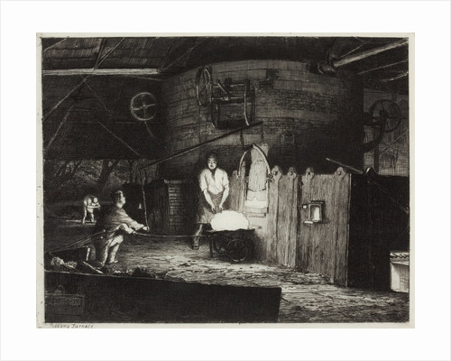 The Puddling Furnace, 1872 by Richard Samuel Chattock
