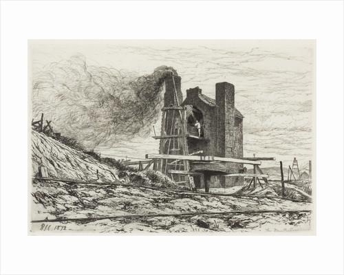 The new Buffery (pit pump), 1872 by Richard Samuel Chattock