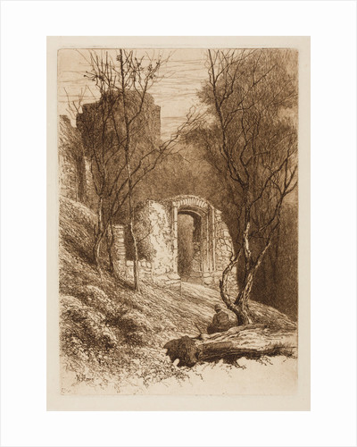 On the Walls of the Castle, 1864 - 1908 by Henry Pope