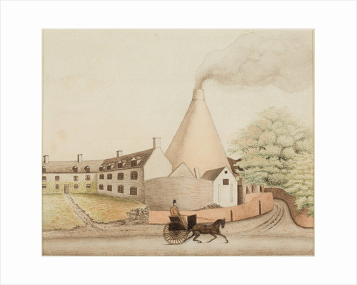 The Heath Glass Works, Stourbridge by unknown