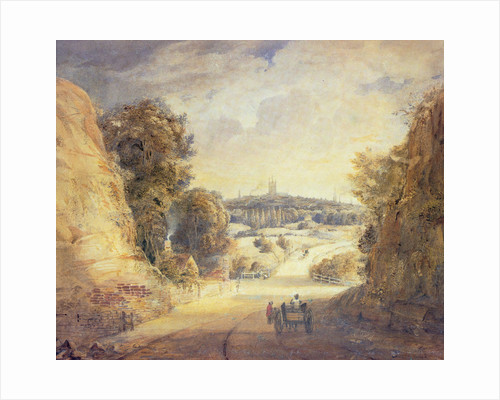 Wolverhampton from Tettenhall Rock by Thomas L Rowbotham