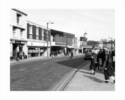 Church Street, Bilston, 1977 by unknown
