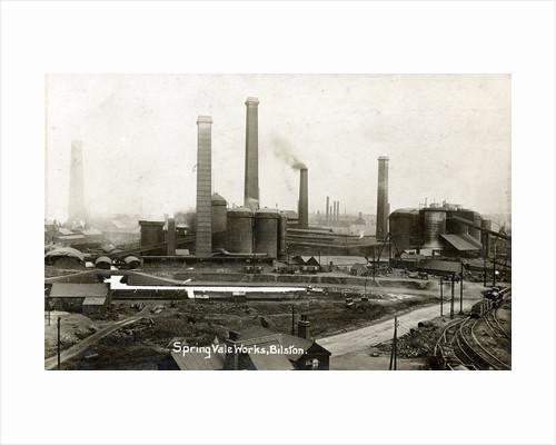 Bilston Steelworks, Bilston, 1920 by unknown