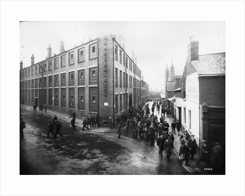 Workers leaving 'Sunbeamland', Paul Street, Wolverhampton  , 1930s by unknown