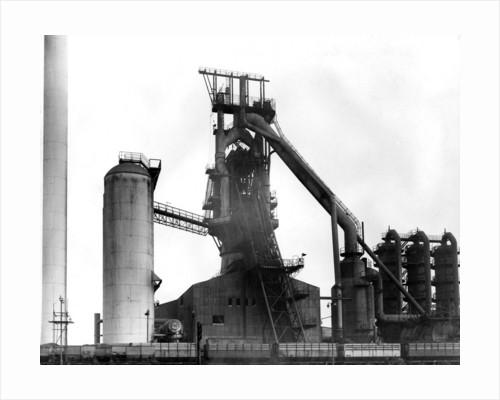 Elisabeth Furnace, Bilston Steelworks, 1970 by unknown