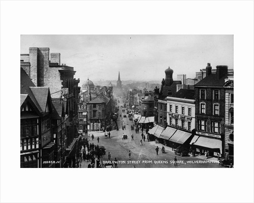 Darlington Street, Wolverhampton, 1930 by unknown