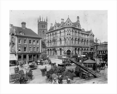 Queen Square, Wolverhampton , Early 20th century by unknown