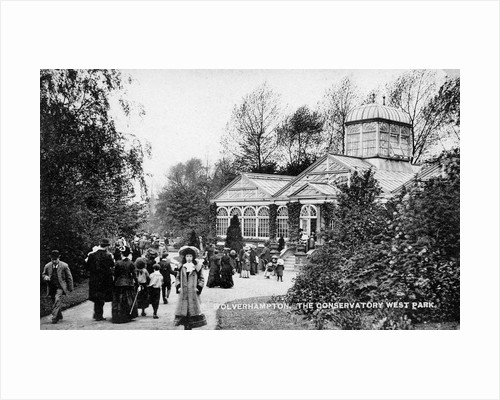 Conservatory, West Park, Wolverhampton, Early 20th century by unknown