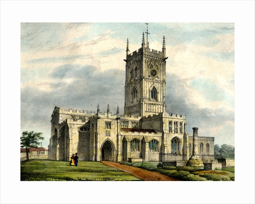 St. Peter's Collegiate Church, Wolverhampton, 19th century by unknown