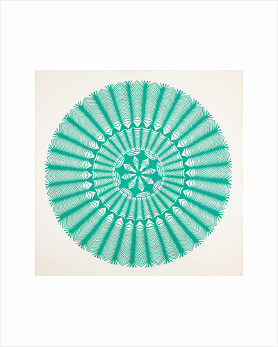 Traditional Cut Paper: Circular pattern by unknown