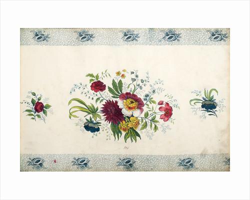 Pattern Book: Flower Design by unknown