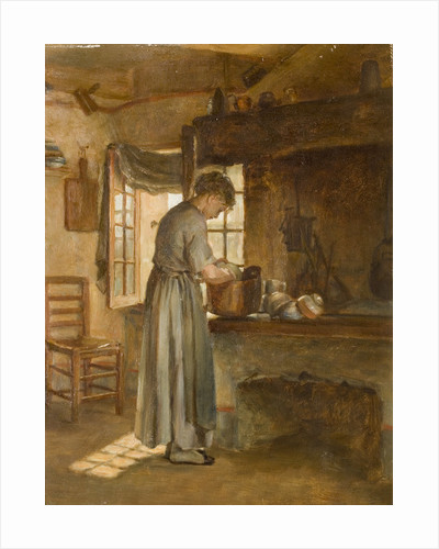 Cottage Interior, Mid 19th century by unknown