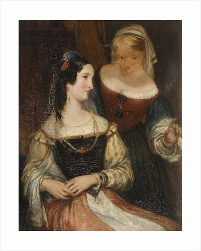 Francesca, Mid 19th century by John Rogers Herbert