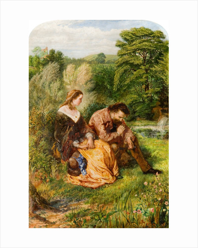 The Miller's Daughter, Tennyson, 1859 by John Alfred Vinter