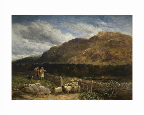 Counting the Flock, 1852 by David Cox