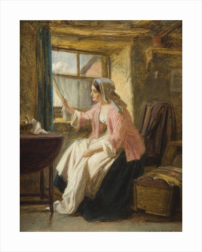 Expectation, 1872 by George Augustus Freezor