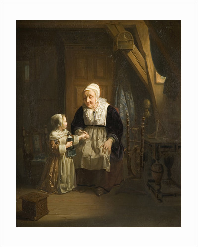 Woman and Child, 1842 by Hendrick Ringeliing