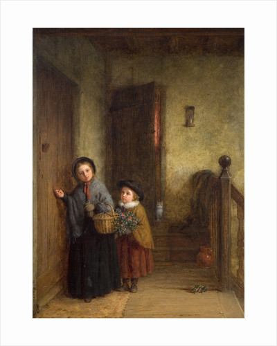 Christmas Visitors, 1869 by Frederick Hardy