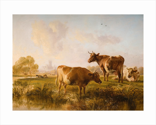 In The Canterbury Meadows, 1863 by Thomas Sidney Cooper