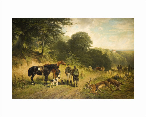A Good Day, 1875 by Friedrich Johann Voltz
