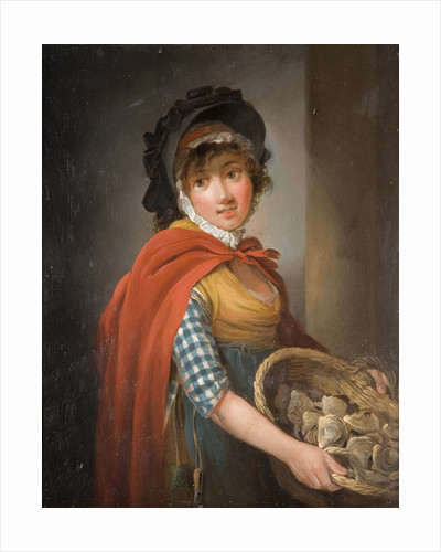 Oyster Girl, Early 19th Century by Edward Bird