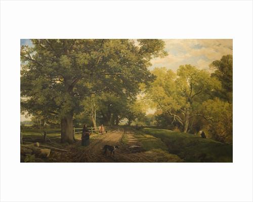 Warwickshire Landscape, Mid 19th century by Frederick William Hulme