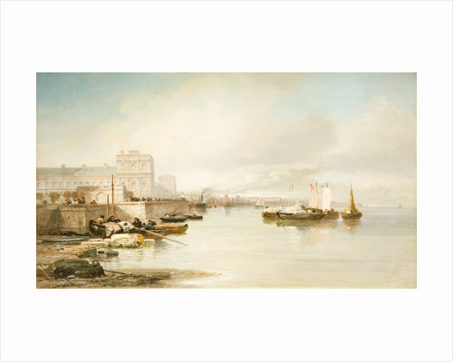 Spanish Harbour, 1875 by James Webb